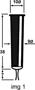 Fumigène 5E dimensions